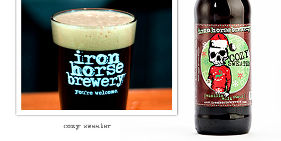 Cozy Sweater by Iron Horse Brewery